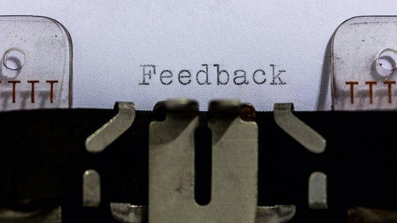 Palavras sobre feedback