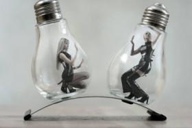 """""""O inseto preso na lâmpada"""""""